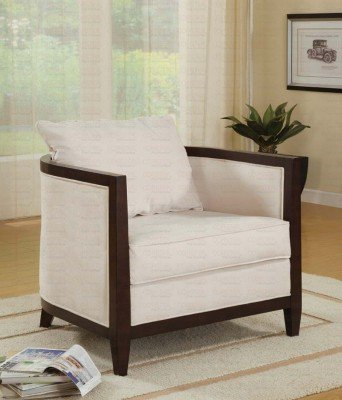 Amazoncom Coaster Home Furnishings Transitional Accent Chair Off