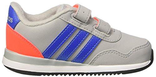 adidas V Jog Cmf Inf, Zapatillas Unisex Niños Gris (Clonix/blue/solred)