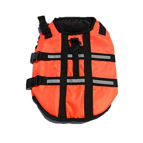 S orange S orange New Dog Clothes, Dog Clothes, Dog Swimsuits, Life Jackets, Small and Medium-Sized Dogs,orange,S