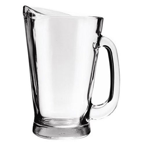 Anchor Beer - ANCHOR HOCKING OPERATING CO 55 oz Crys Glass Pitcher