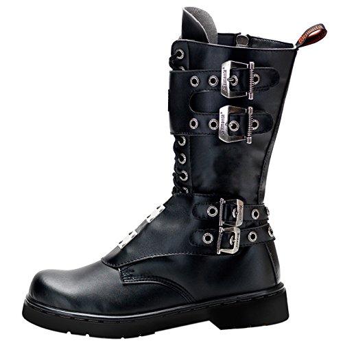 Demonia - Definizione Di Footware Alternativo Miniplateau Stiefel Defiant-302