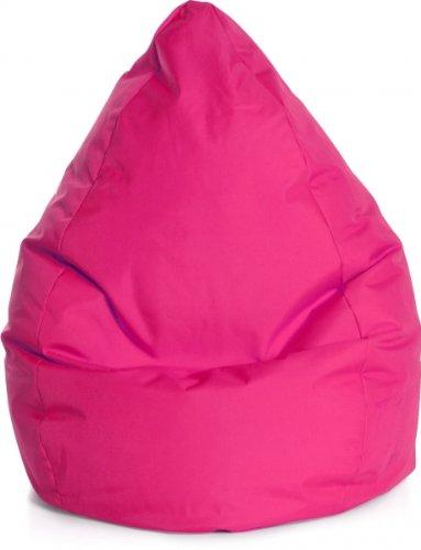 Sitzsack Brava Bean Bag L ca. 120 Liter pink (bis ca. 7 Jahre)