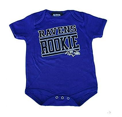 af276cb0e6d Image Unavailable. Image not available for. Color  Baltimore Ravens Rookie  Infant Size 12 Months Onesie Team Logo Creeper - Purple