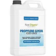 Propylene Glycol (1 Gallon) by Pure Organic Ingredients, Lower Freezing Point, Use in Moisturizers and Cosmetics, Humectant, Preservative, Solvent, Eco-Friendly Antifreeze, Winterize Water Systems