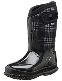 Bogs Kids Classic Winter Plaid Waterproof Winter & Rain Boot (Toddler/Little Kid/Big Kid)