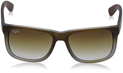 Gafas 55 de Justin Marrón Ray Brown sol 7Z Unisex 854 mm Ban RB4165 twqwpP