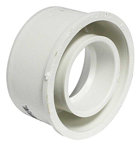 - Canplas 414225BC PVC Sew 3X1 1/2 Reducer Bushing Dwv