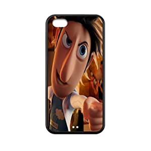 Custom Cloudy With A Chance Of Meatballs Back Cover Case for iphone 5C JN5C-319