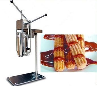 5L Manual churro máquina acero inoxidable español Churros máquina churro eléctrica Churros Panificadora: Amazon.es: Industria, empresas y ciencia