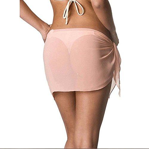 a761043606b Oneforus 2018 Summer Lady Sexy Chiffon Skirt Beach Skirt  Amazon.co.uk   Clothing