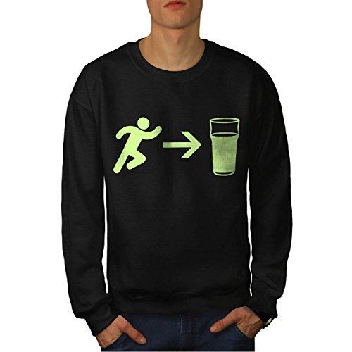 exit-beer-needs-me-men-new-l-sweatshirt-wellcoda