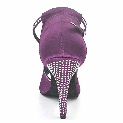 misu , Damen Tanzschuhe Violett violett