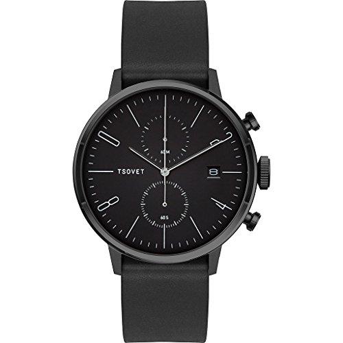 Tsovet-JPT-CC38-Analog-Quartz-BlackWhite-w-BlackBlack-Watch