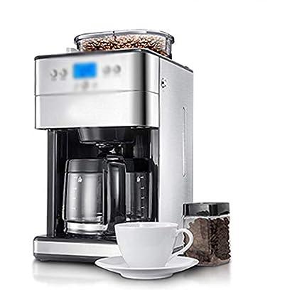 LJHA kafeiji Máquina de café Americana, máquina de café Totalmente automática Molinillo máquina de café