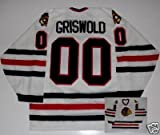 Clark Griswold Christmas Vacation Chi Blackhawks Jersey - X-Large
