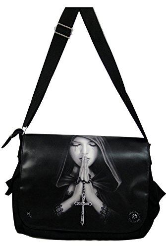 NEW ANNE STOKES FANTASY DRAGON MEDIEVAL ART, MESSENGER BAG **YOUR CHOICE OF ART** BY ACK (GOTHIC PRAYER)