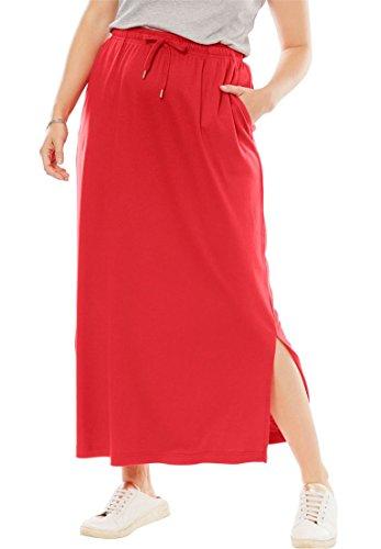Womens A-line Knit Skirt - 8