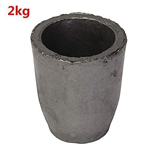 Schmelzwerkzeug, 1-16 kg, Graphit, für Ofen, Gießerei, Tiegel, 2 kg