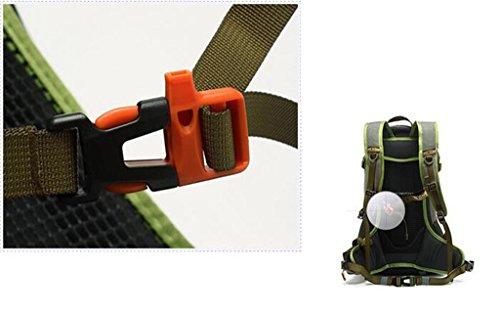 borsa tracolla alpinismo uomo signora sport all'aria aperta un'escursione giro zaino tracolla a cavallo 30L35L ( colore : The Dark Green , dimensioni : 30L )