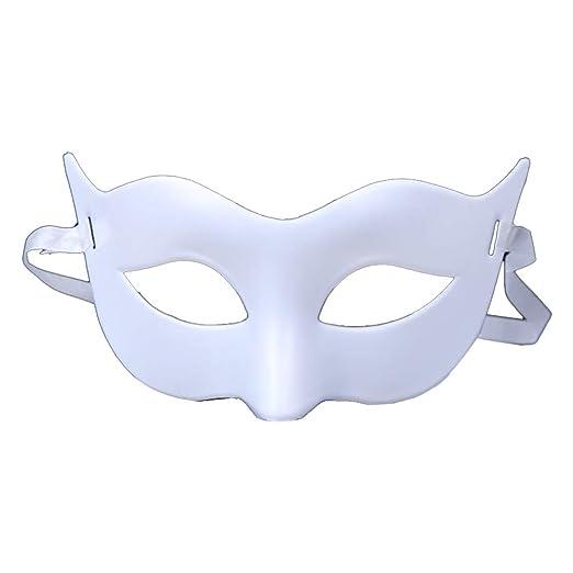 Daliuing - Máscara veneciana de Halloween, de plástico, para ...