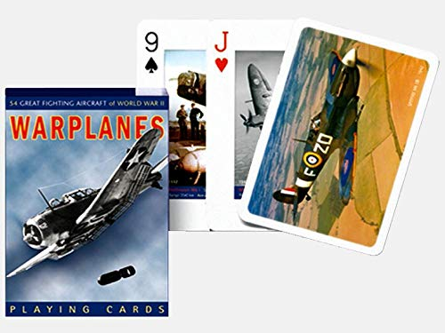 Raf Airplane - Piatnik Warplanes Playing Cards