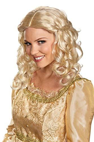 Disguise Women's Disney Maleficent Movie Aurora Adult Costume Wig, Blonde, One -