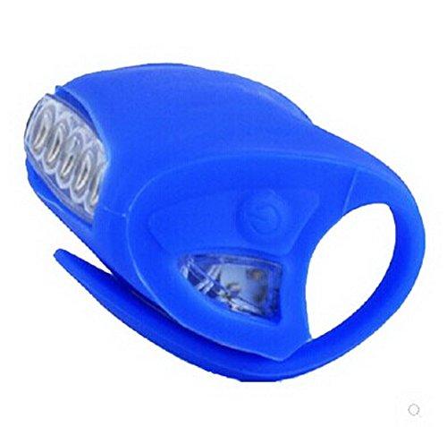 Gebirgsrücklicht Scheinwerfer Warnleuchte Radfahren Gerätezubehör - Blau