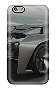 Iphone 6 Case Cover - Slim Fit Tpu Protector Shock Absorbent Case (nissan Concept)