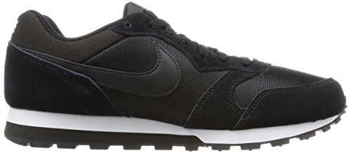 Noir 001 Md white Femme Baskets 2 black Nike black Runner qX4fzfw