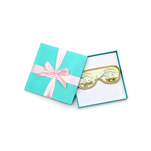 Pale Moss Sleep Mask Breakfast at Tiffany's Hepburn Handmade (w/Gift Box) -