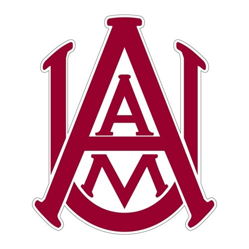 Alabama A&M Large Magnet 'Official Logo' by CollegeFanGear