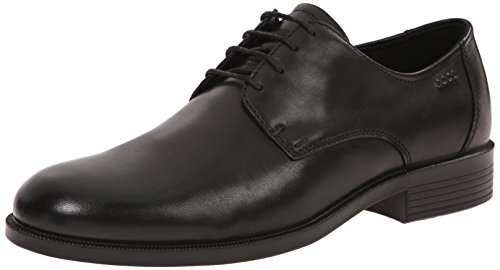 ECCO Men's Harold Plain Toe Oxford, Black, 45 EU/11-11.5 M US Ecco Plain Toe Oxfords