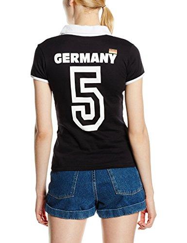 Madonna, Camiseta para Mujer Negro (Black 0300)