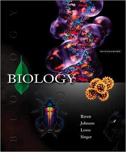 Biology International Edition 7th Edition Losos Singer