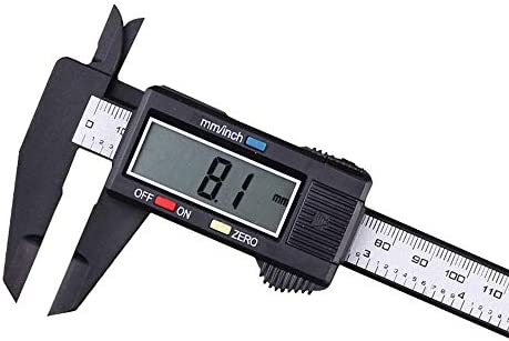 BXU-BG Electronic Digital Display Vernier Caliper 0-150mm Full Plastic Digital Caliper (Size : 0-150mm)