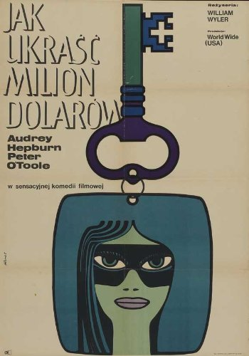 How to Steal a Million Poster Movie Polish 11x17 Audrey Hepburn Peter O'Toole Eli Wallach