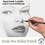Black Widow Dark Skin Tone Colored Pencils for