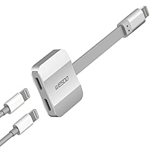 Amazon.com: Wesoo Dual port Adapter & Splitter, Headphone