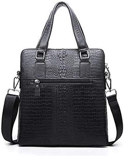 N// A Messenger Shoulder Bags Mens Cowhide Briefcase Tote Crossbody Shoulder Messenger Bag Pad Tablet Laptop Handbag Multipurpose
