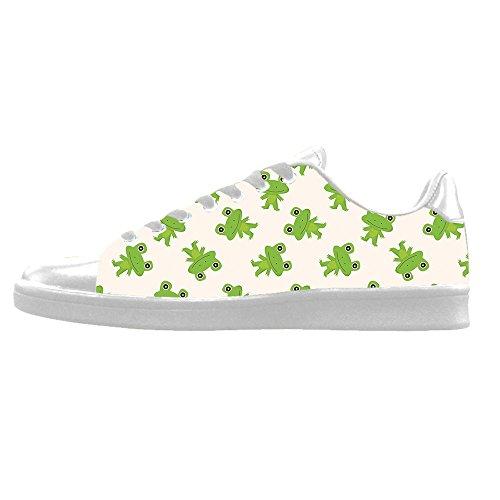 Colorido Custom Rana divertente Mens Canvas shoes I lacci delle scarpe in Alto sopra le scarpe da ginnastica di scarpe scarpe di Tela. Venta Barata De Descuento YmpKWA4t