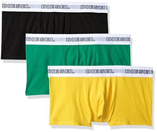 (Diesel Men's UMBX-Korythreepack Boxer 3pack, Green/Black, M)