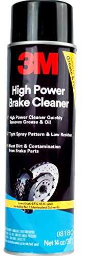 3M 08180 High Power Brake Cleaner - Mid-Level VOC - 14 oz