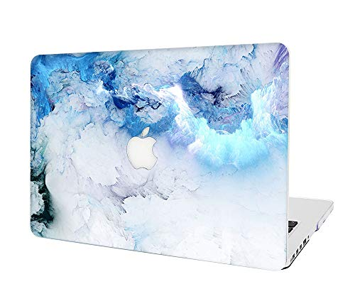 """L2W MacBook Air 11 Inch Case Plastic Printed Protective Hard Cover for Laptop MacBook Air 11.6"""" Model: A1465/A1370,Sky(Blue)"""
