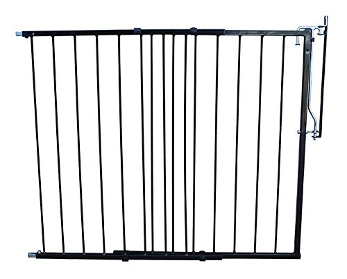 Duragate Pet Gate - Cardinal Gates Duragate, Expandable, Black