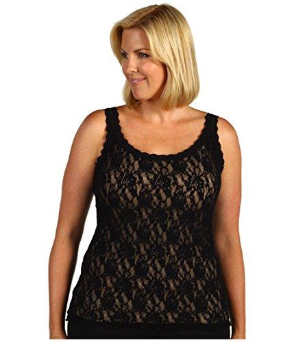 (Hanky Panky Size Plus Camisole, Black 2X (Women's 20W-22W) )