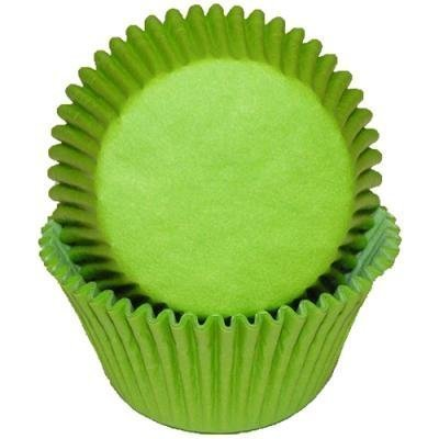 1 X Lime Green Cupcake Baking Cup Liners, 50 Count, by GSA -