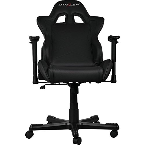 DX Racer OH/FL08/N Gaming Seat   Black: Amazon.co.uk: Computers U0026  Accessories
