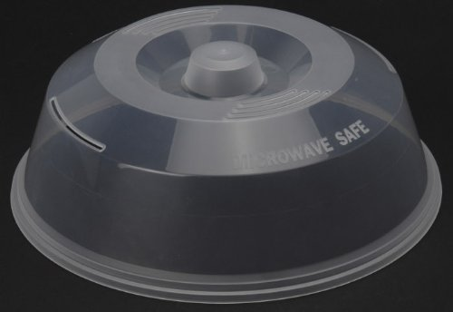 Mikrowellendeckel Ø 27 cm, Abdeckung für die Mikrowelle, Abdeckhaube