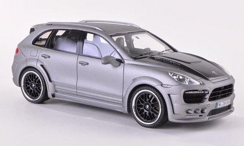 Hamann Guardian, matt-grey/Carbon, 2011, Model Car, Ready-made, Neo Limited 300 (Hamann Carbon)