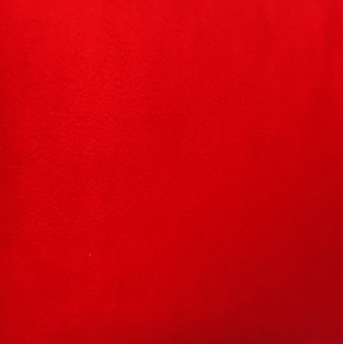 4 Yard Bolt Anti Pill Red Fleece Polyester Fabric